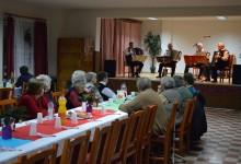 Nyugdíjasok köszöntése Zalaboldogfán