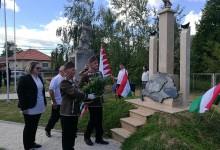 Trianoni emlékmű avatás Zalaboldogfán